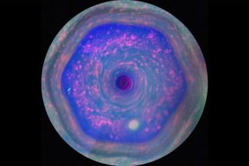 Esagono Saturno