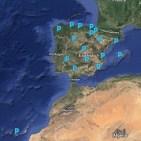 Mapa vocalías PACAP
