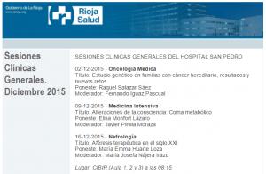 Sesiones clinicas generales dic 2015