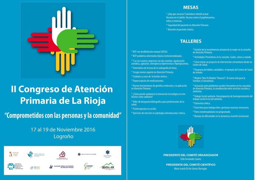 II Congreso de Atención Primaria de La Rioja