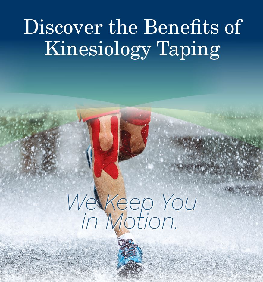 Kinesiology tape is a therapeutic tape that's typically applied to provide support, lessen pain, reduce swelling, and improve performance.