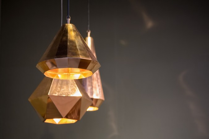 metal multi-light pendant fixture