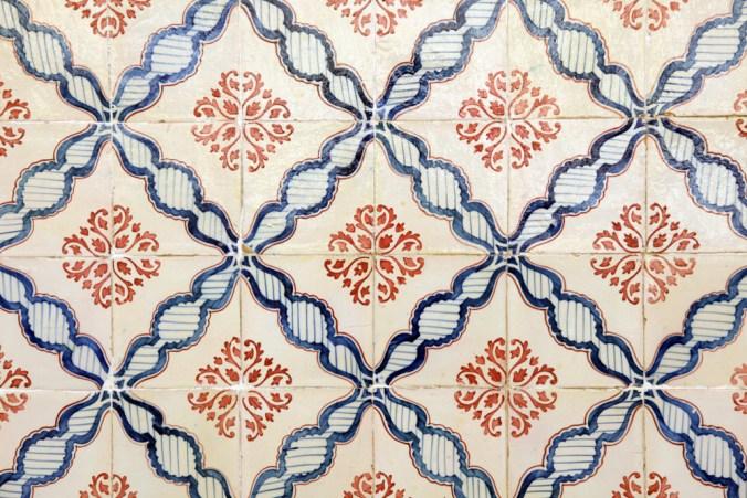 hand-painted Mediterranean tile