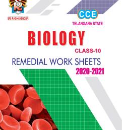 Class-10 Biology Remedial Worksheets (T.S) [ 2286 x 1563 Pixel ]