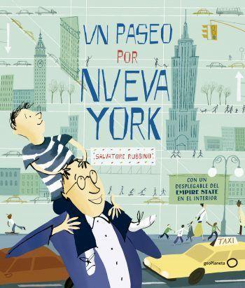 un paseo por Nueva York, Salvatore rubbino, geoplaneta