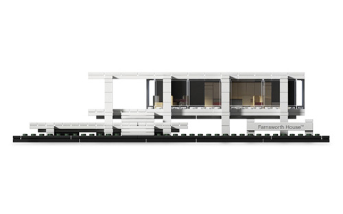 Farnsworth House by LEGO Architecture Ludwig Mies van der Rohe at Srta Jara Modern Living