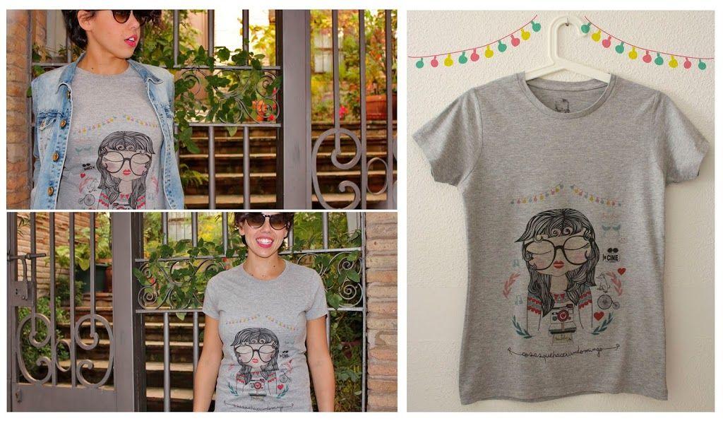"""Camiseta """"Cosas que hacer en Domingo"""""""
