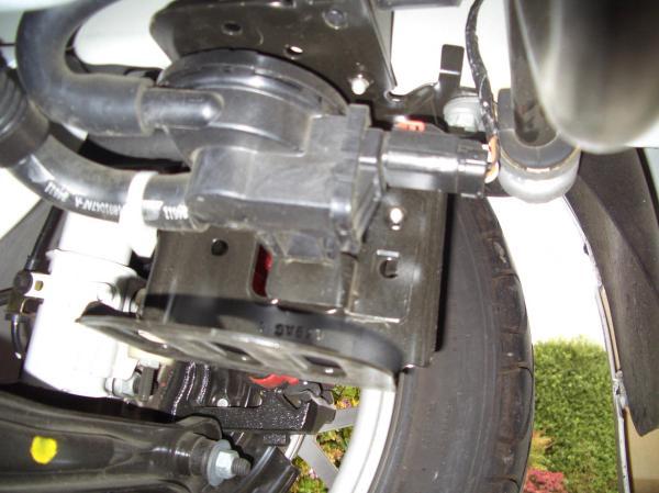 dodge caliber fuel filter location