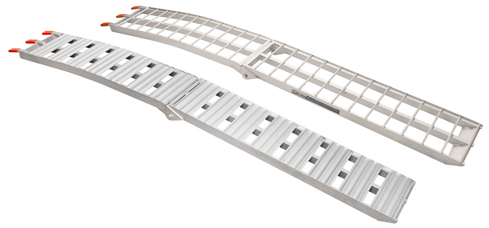 Aluminum Folding Arched Ramps 90