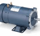 Leeson electric motor Cat. 108052.00 Model 4D17FK8 3/4HP, 1800 RPM, S56C frame, 24VDC