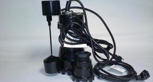 Myers MS33D10, MS Series, Sump Pump with Diaphragm Float