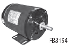 Century electric motor FB3154 SPL HP, 1725 RPM, 56 Frame, 208-230/460vac
