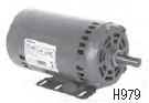 Century electric motor H979L 5HP, 1725 RPM, 208-230/460vac, Y56Y Frame