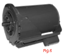 New Rotom electric motor CP-R1471 1HP, 1725 RPM, 230/460 VAC, Ball bearings
