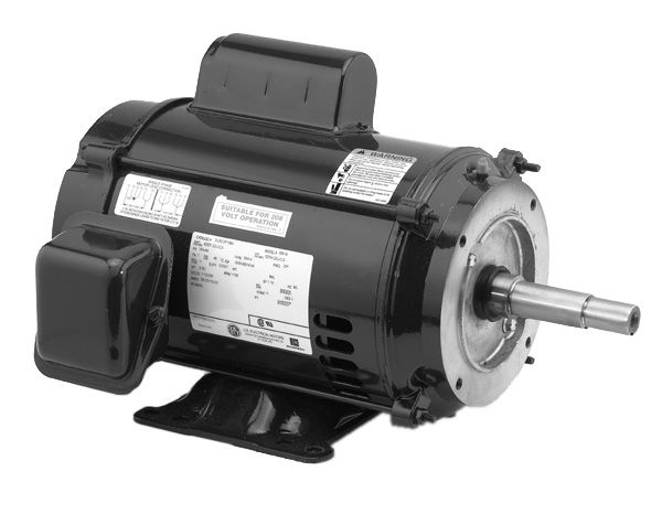 Close-Coupled Pump Motors 1 Phase AC - ODP Enclosure