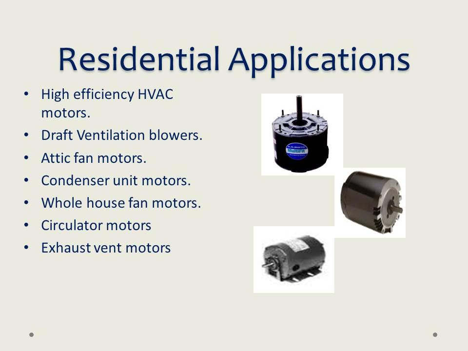 HVAC ELECTRIC MOTORS & BLOWERS