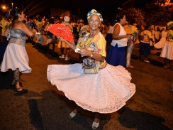 Ensaio de rua do Paraíso do Tuiuti. Foto: Eduardo Hollanda