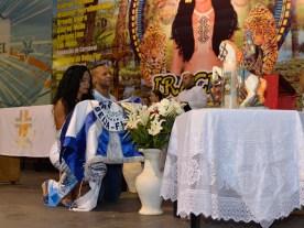 Missa de São Jorge na Beija-Flor de Nilópolis. Foto: Eduardo Hollanda