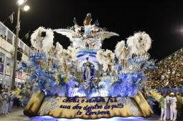 Desfile Beija-Flor 2018. Foto: Leandro Milton/SRzd