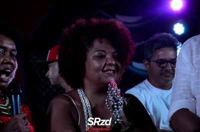 Lançamento do enredo 2019 da X-9 Paulistana - Babi Cruz, esposa de Arlindo Cruz. Foto SRzd – Guilherme Queiroz
