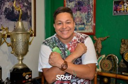 Lançamento do enredo 2019 da X-9 Paulistana - Darlan, intérprete da escola. Foto SRzd – Guilherme Queiroz