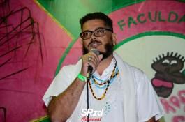 Lançamento do enredo 2019 da Barroca Zona Sul. Fernando Dias, um dos integrantes da comissão artística. Foto: SRzd – Guilherme Queiroz