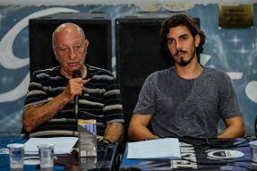 Anísio Abraão David e Gabriel David. Foto: Eduardo Hollanda/Divulgação