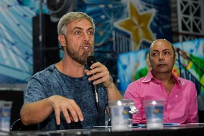 Reunião Geral da Beija-Flor para o Carnaval 2020. Foto: Eduardo Hollanda