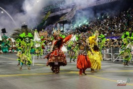 Desfile das campeãs 2019 da Mancha Verde. Foto: SRzd – Fausto D'Império