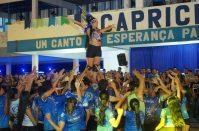 Ensaio de arena do Caprichoso no Curral Zeca Xibelão. Foto: Arleison Cruz/Divulgação