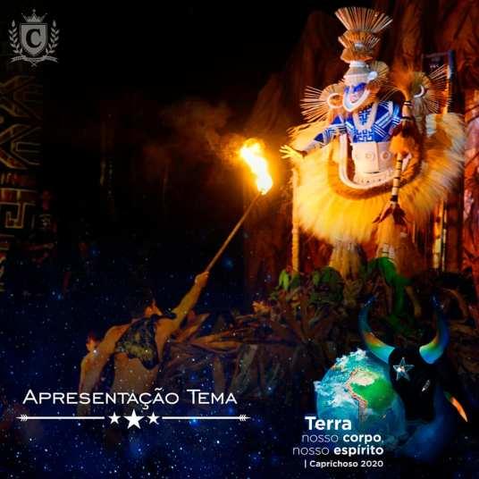 Festa de lançamento do tema do Caprichoso para 2020. Foto: Arleison Cruz e Pitter Freitas