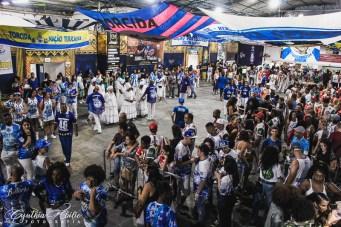 "Festa da torcida ""Força Azul"" da Nenê de Vila Matilde. Foto: Cynthia Abilio"