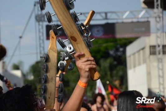 Unidos de Santa Bárbara na festa de lançamento do CD do Carnaval 2020. Foto: SRzd – Cláudio L. Costa