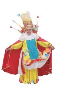 Fantasia da Camisa 12 para o Carnaval 2020. Foto: Divulgação