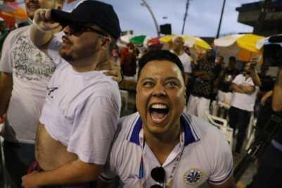 Águia de Ouro vence pela primeira vez o Carnaval de São Paulo. Foto: Bruno Sereno - SRzd