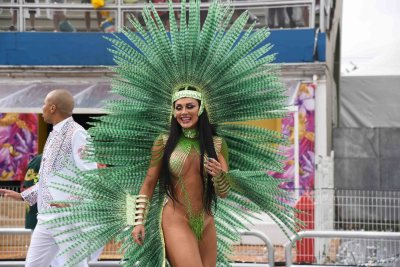 Desfile 2020 da X-9 Paulistana. Foto: SRzd - Ana Gabriela Moura