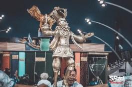 Desfile das campeãs 2020 da Águia de Ouro. Foto: SRzd – Bruno Giannelli