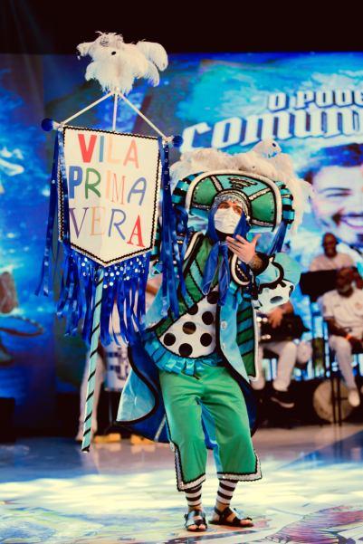 Pilotos de fantasias da Império de Casa Verde. Foto: Divulgação/Duda Morais