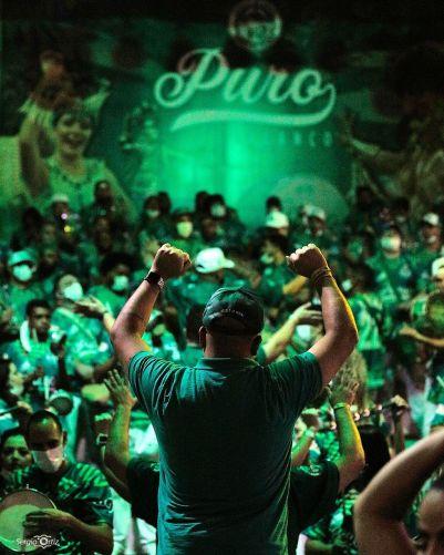 Festa de 26 anos da Mancha Verde. Foto: Divulgação/Sergio Ortiz