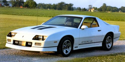 small resolution of the mid 80s were big for the camaro especially 1985 this marked the year that the iroc z was introduced