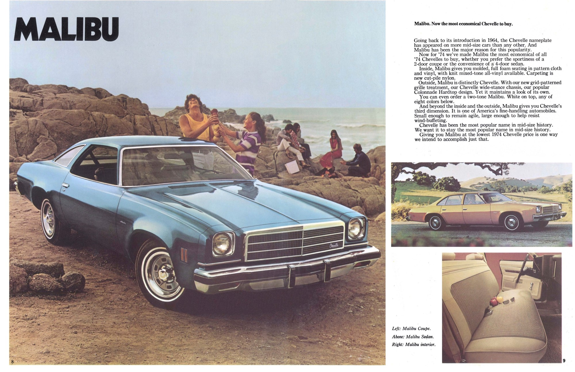 hight resolution of 1974 chevrolet chevelle brochure5