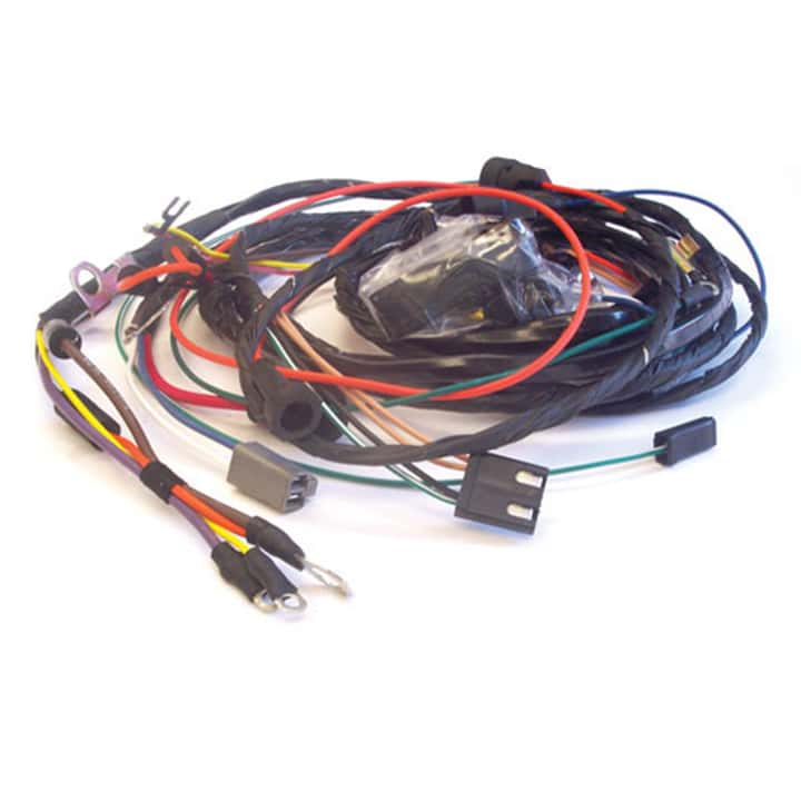 1968-1969 camaro hei engine harness, big block without gauges - for a 1970