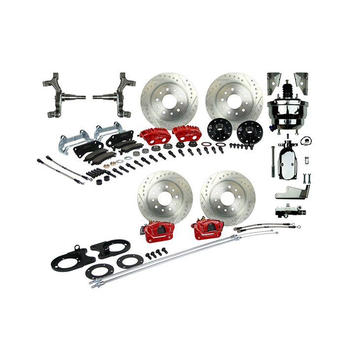 1964-1972 El Camino Signature 4 Wheel Power Disc Brake Kit