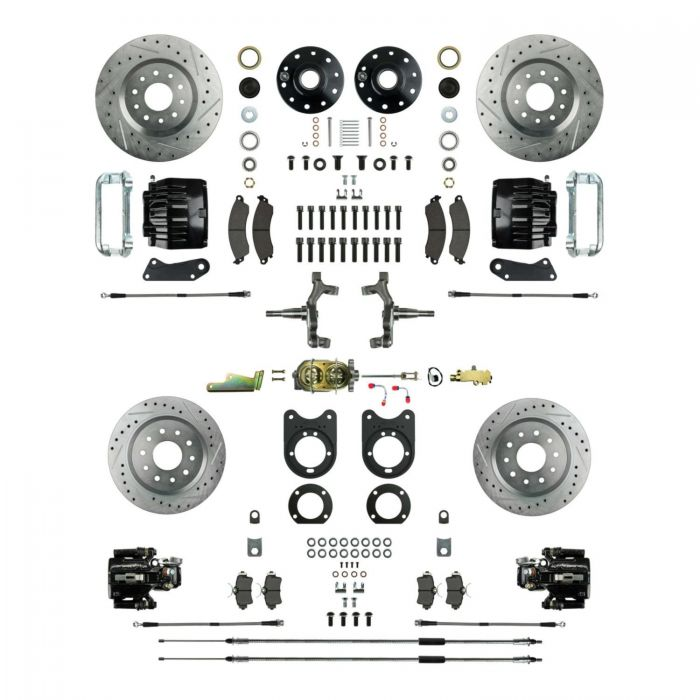 1962-1967 Nova Four Wheel Manual Disc Brake Conversion Kit