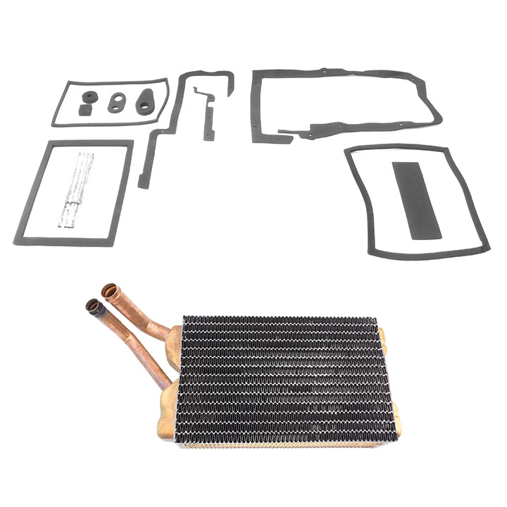1968-1972 Chevrolet Heater Core And Box Seals Kit, With