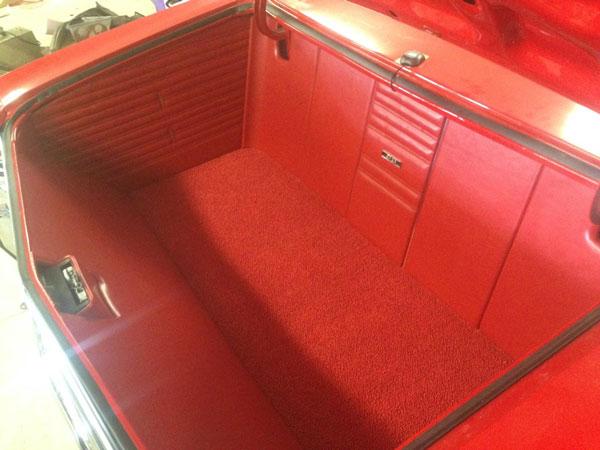19681969 Chevelle Custom Trunk Panel Kit