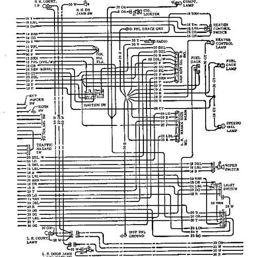 1972 chevrolet biscayne schematic
