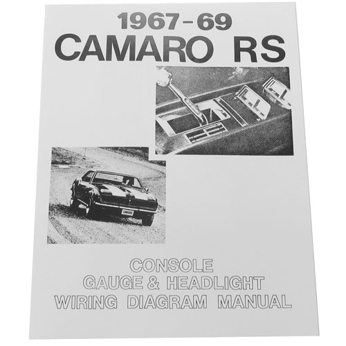 19671969 camaro rally sport rs wiring diagram