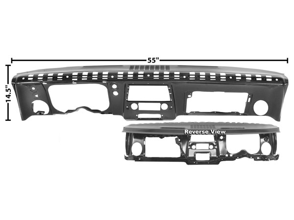 1967 camaro complete dash