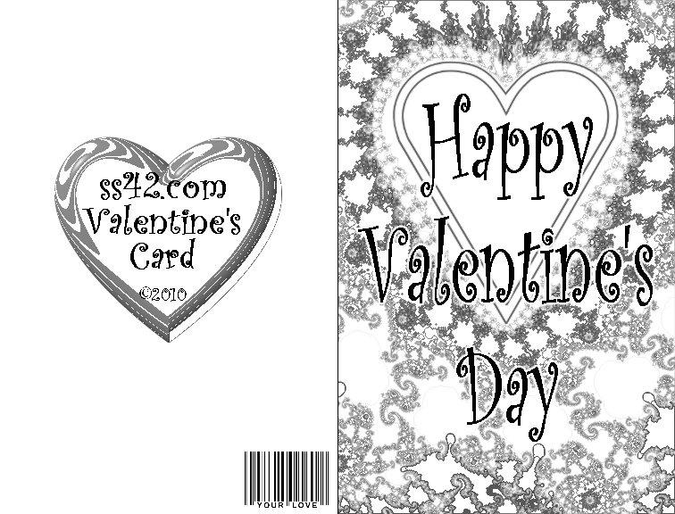 Free Valentine's Day Pop-Up Card
